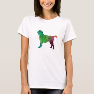 Wirehaired Pointing Griffon Korthals in watercolor T-Shirt