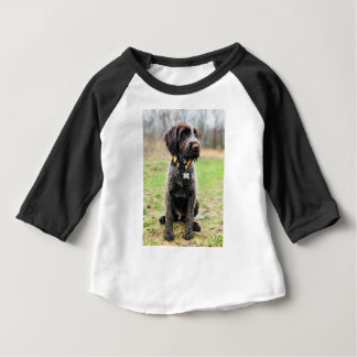 Wirehaired pointing Griffon puppy Baby T-Shirt