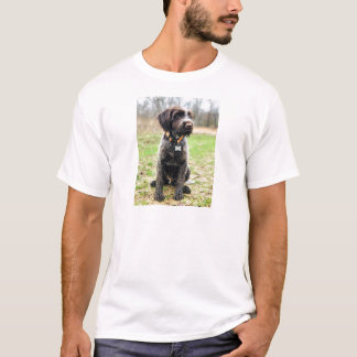Wirehaired pointing Griffon puppy T-Shirt