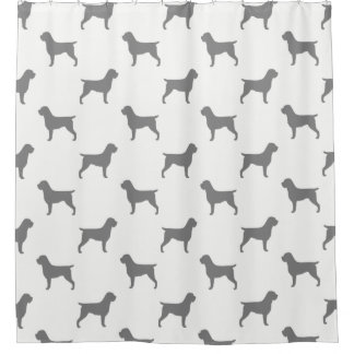 Wirehaired Pointing Griffon Silhouettes Pattern