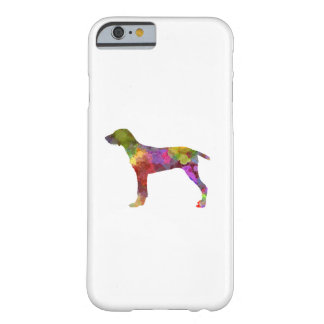 Wirehaired Slovakian Pointer in watercolor-2 Barely There iPhone 6 Case