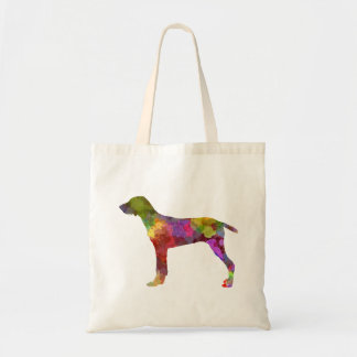 Wirehaired Slovakian Pointer in watercolor-2 Tote Bag