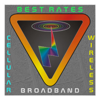 WIRELESS BROADBAND CELLULAR POSTER