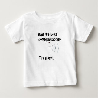 Wireless Communication Prayer Baby T-Shirt