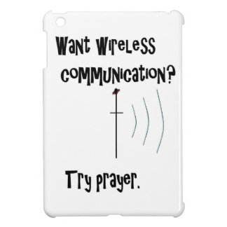 Wireless Communication Prayer iPad Mini Covers