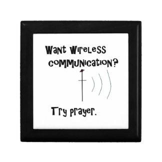 Wireless Communication Prayer Trinket Box