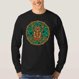 Wireless Frog, Color Perception Test, Black T-Shirt