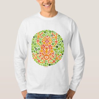 Wireless Frog, Color Perception Test T-Shirt