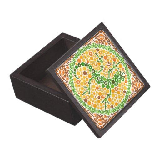 Wireless Gecko, Color Perception Test, White Premium Gift Boxes