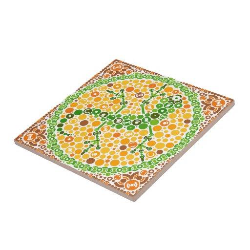 Wireless Gecko, Color Perception Test, White Tiles