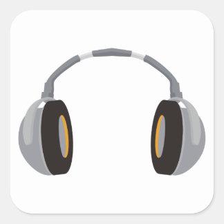Wireless Headphone Square Sticker
