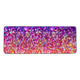 Wireless Keyboard Glitter Graphic