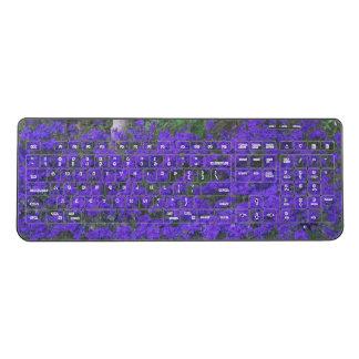 Wireless Keyboard--Verbena Carpet Wireless Keyboard