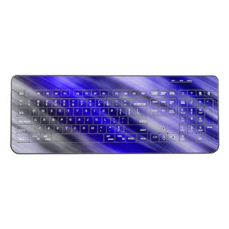 Wireless keyboard with a cool new look
