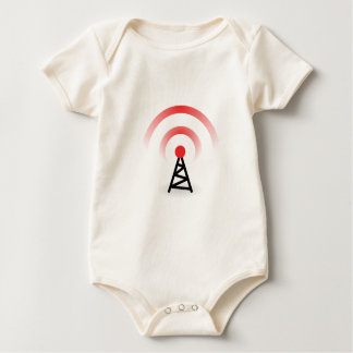 Wireless Network Baby Bodysuit