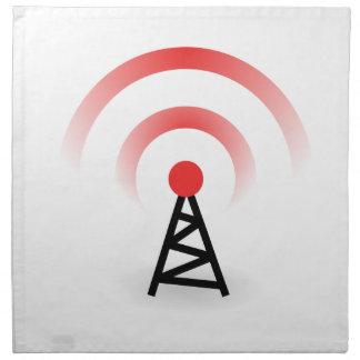 Wireless Network Napkin