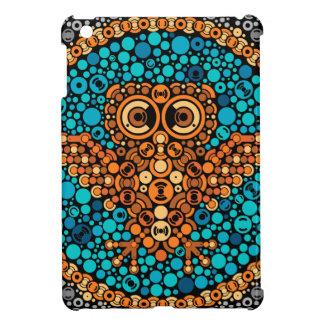 Wireless Owl, Color Perception Test, Black iPad Mini Cover