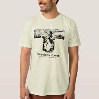 Wireless Power-Nikola Tesla T-Shirt