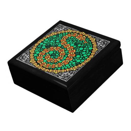Wireless Python, Color Perception Test, Black Jewelry Box
