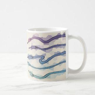 Wires Classic White Coffee Mug