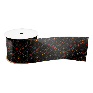 Wires (not signed) satin ribbon