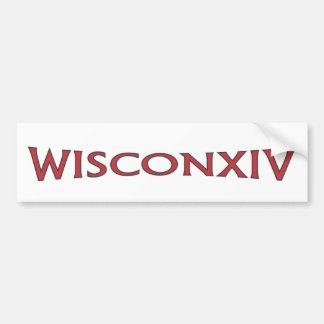 Wisconsin 14 Bumper Sticker