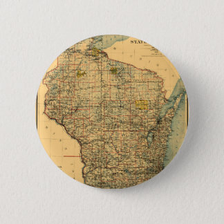 Wisconsin 1896 2 inch round button
