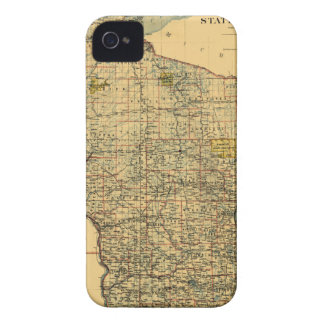 Wisconsin 1896 iPhone 4 case