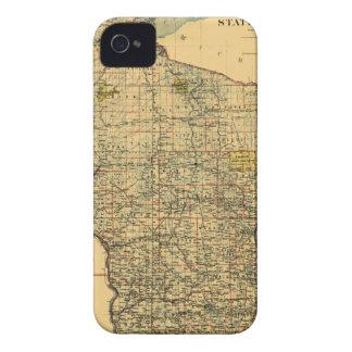 Wisconsin 1896 iPhone 4 Case-Mate case