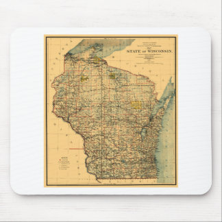 Wisconsin 1896 mouse pad