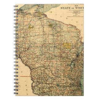 Wisconsin 1896 notebook