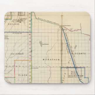 Wisconsin 3 mouse pad