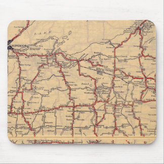 Wisconsin 6 mouse pad