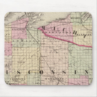 Wisconsin 9 mouse pad