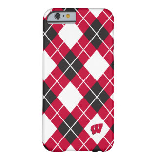 Wisconsin   Argyle Pattern Barely There iPhone 6 Case