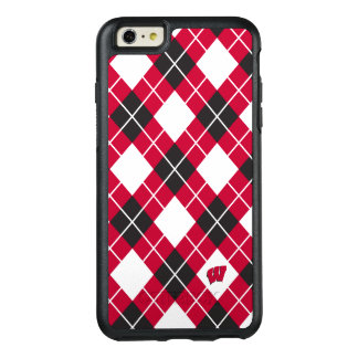 Wisconsin | Argyle Pattern OtterBox iPhone 6/6s Plus Case