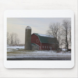 Wisconsin Barn Mouse Pad
