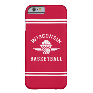 Wisconsin   Basketball Barely There iPhone 6 Case