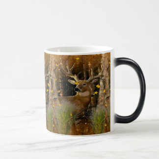 Wisconsin Big Buck Whitetail Deer Signature Mug