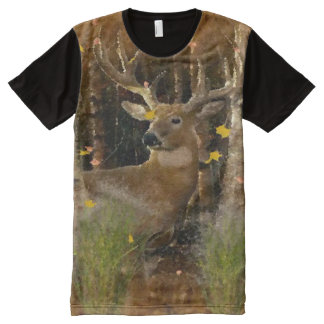 Wisconsin Big Buck Whitetail Deer Signature Shirt