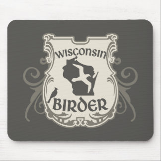 Wisconsin Birder Mouse Pad