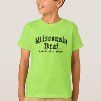 Wisconsin Brat Kids's Short Sleeve Shirt