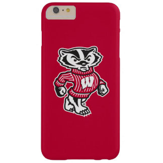 Wisconsin   Bucky Badger Mascot Barely There iPhone 6 Plus Case
