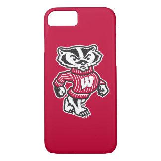 Wisconsin   Bucky Badger Mascot Case-Mate iPhone Case