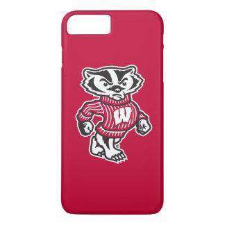 Wisconsin   Bucky Badger Mascot iPhone 8 Plus/7 Plus Case