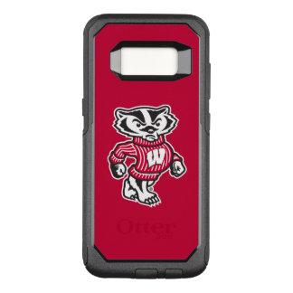 Wisconsin   Bucky Badger Mascot OtterBox Commuter Samsung Galaxy S8 Case