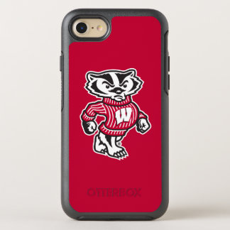 Wisconsin   Bucky Badger Mascot OtterBox Symmetry iPhone 8/7 Case