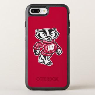 Wisconsin   Bucky Badger Mascot OtterBox Symmetry iPhone 8 Plus/7 Plus Case