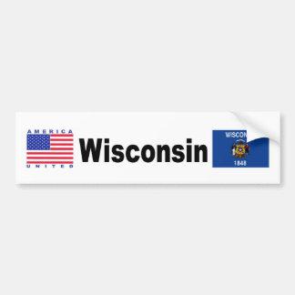 Wisconsin Bumper Sticker
