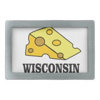 Wisconsin cheese head belt buckle